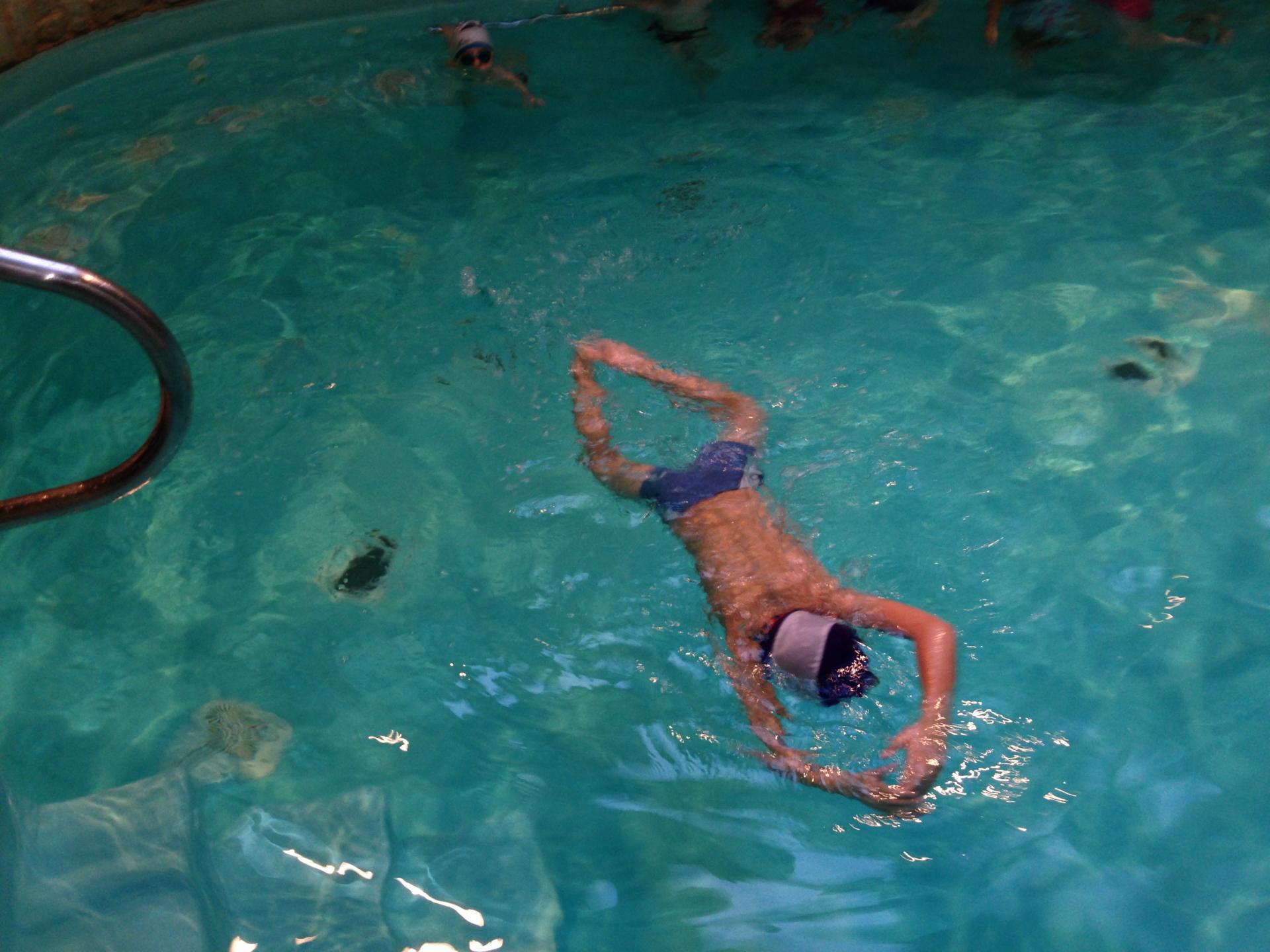 Tous à la piscine